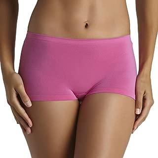 Body Creations Women's Seamless Boy Short Underwear, 3 Pack, Size 9