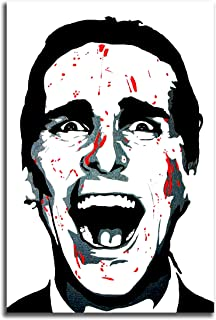 Poster #01 American Psycho Movie Art Decor 36x48 inch More Sizes Available Canvas Stretcher Bar Frame