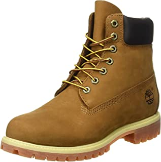 Timberland Men's AF 6in Prem BT Boots, Rust Nubuck