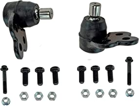 Detroit Axle - Both (2) Brand New Driver & Passenger Side Front Lower Ball Joint for 2005-2010 Chevy Cobalt - [2007-2010 Pontiac G5] - 2005-2006 Pontiac Pursuit - [2003-2007 Saturn Ion] - Soft Ride