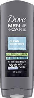 Dove Clean Comfort Body and Face Wash by Dove for Men - 13.5 oz Body Wash, 400 ml