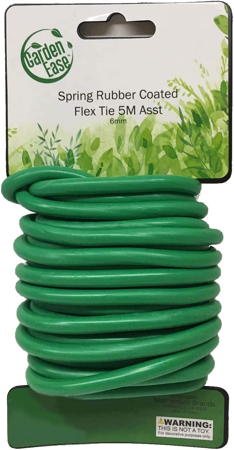 6MM Diameter Easy-to-use -16.4FT Miami Mall 5M Length Soft Rubber-Coated Multi Purpos