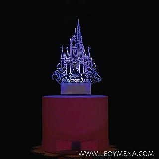 Talla /única Enchanting DisneyNEY A29341 Cenicienta Cake Topper