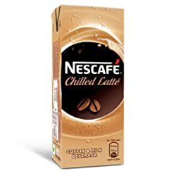 Nescafe Ready To Drink Coffee Flavoured Milk, Iced Latte, 180 ml Tetra Pack