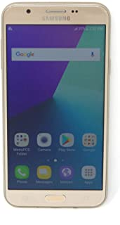Samsung Galaxy J7 Prime 5.5in Smartphone GSM Unlocked 16GB 8MP Gold 4G SM-J727T (Renewed)