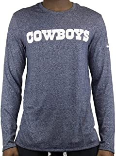 Dallas Cowboys Nike Marled Patch Long Sleeve Tee