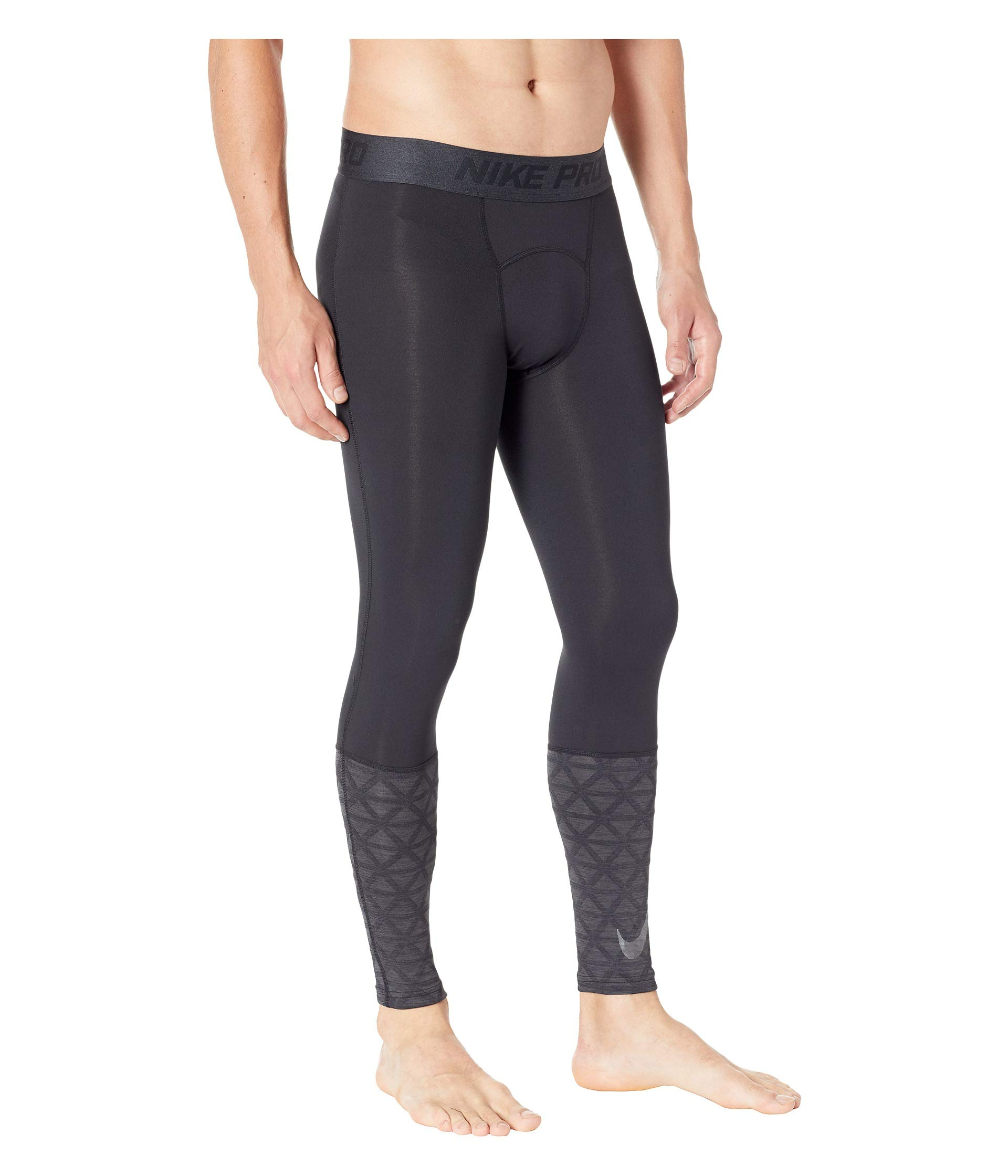 Pro Utility Therma Nike anthracite Black Tights black dqx0A