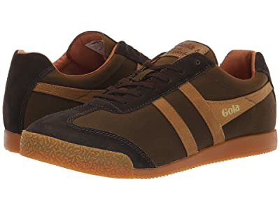 Gola Harrier Millerain (Olive/Brown) Men