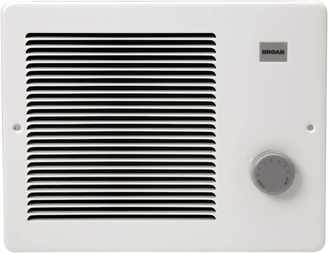 Low price Broan-NuTone 174 White Painted Grille 750 Wat Some reservation Wall 1500 Heater