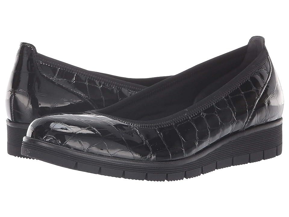 Gabor Gabor 95.340 (Black Croc Patent) Women
