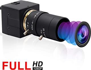 Webcamera usb 2MP 5-50mm Varifocal Lens USB Camera CMOS OV2710 Sensor,Webcam Support 1920X1080@30fps,UVC Compliant Web Camera Support Most OS,Focus Adjustable USB with Camera,High Speed USB2.0 Webcams