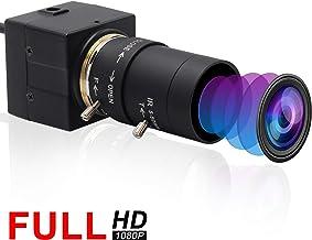 Webcamera usb 2MP 5-50mm Varifocal Lens USB Camera CMOS OV2710 Sensor,Webcam Support 1920X1080@30fps,UVC Compliant Web Cam...