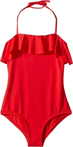 Ruffle Top One-Piece (Toddler/Little Kids)