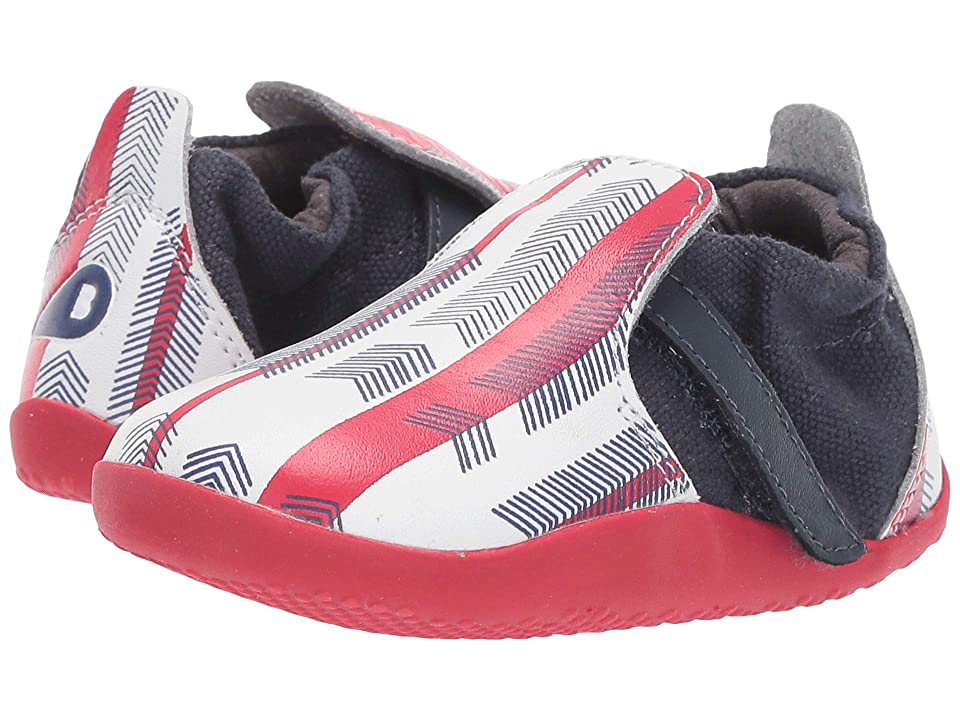 Bobux Kids Step Up Xplorer Aktiv Arrows (Infant/Toddler) (Navy/Red) Kid