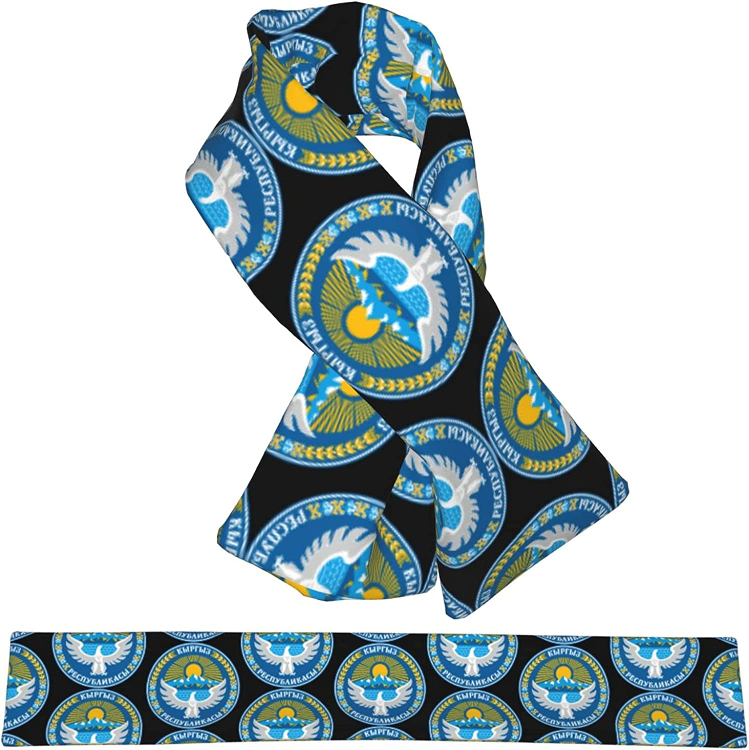 Flag NEW before selling ☆ New sales Of Kyrgyzstan Flannel Cross Collar Wrap Neck Wa Scarf Shawl
