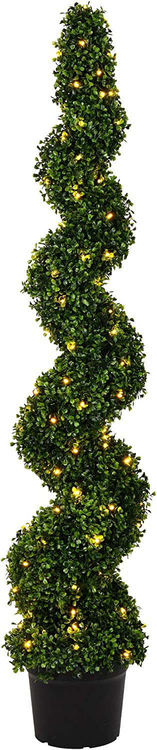 Vickerman SEAL limited product Pre-Lit LED Artificial OFFicial site Boxwood Spiral 5 Tree F Topiary
