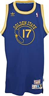 adidas Golden State Warriors Chris Mullin Blue Throwback Swingman 7484A Jersey