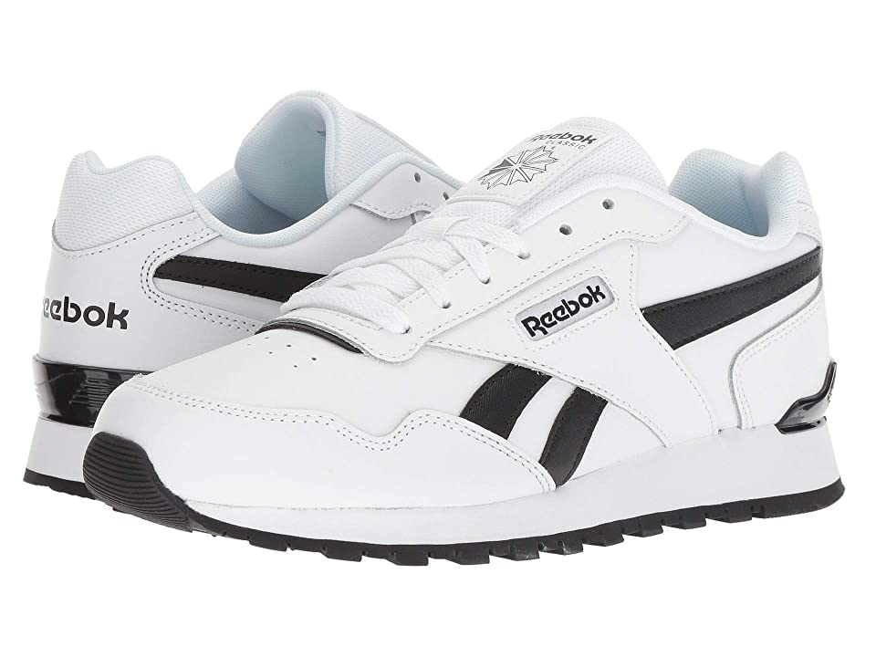 974b71774090 Reebok Classic Harman Run Clip (White Black) Men s Shoes