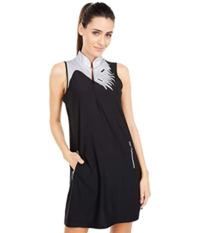Jamie Sadock Dress with Shorties (Jet Black) Women