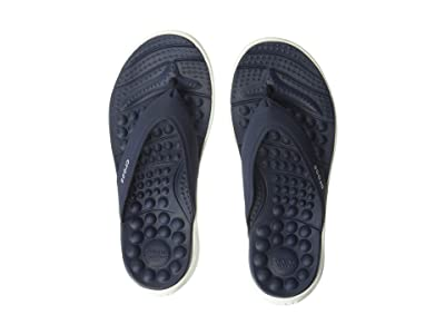Crocs Reviva Flip (Navy/White) Women