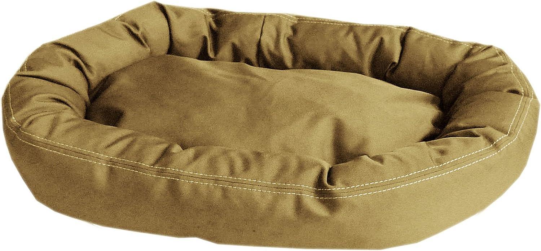 CPC Brutus Tuff Comfy Cup Pet Bed, 42Inch, Khaki