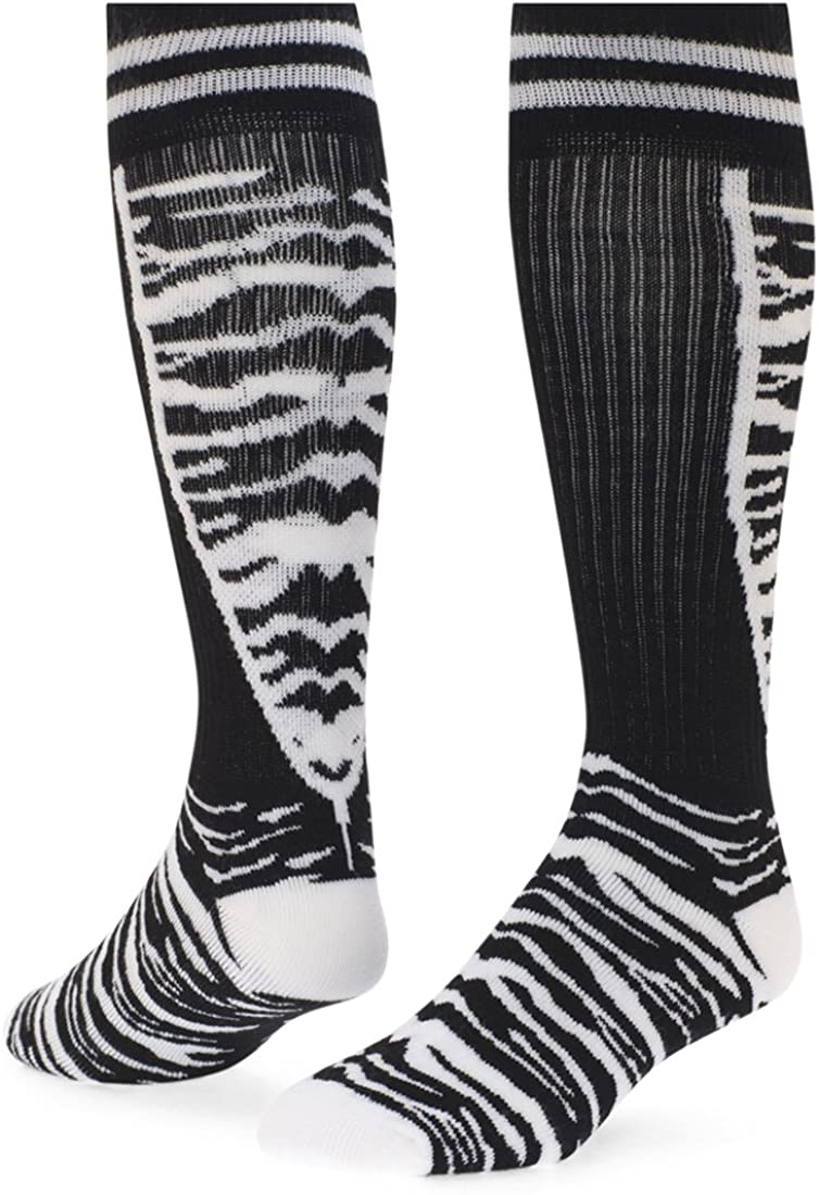 Red Genuine Lion famous Top Cat Knee-high Sock White Black Small -