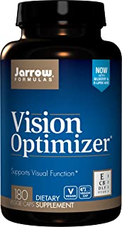 Jarrow Formulas Vision Optimizer, Supports Visual Function, 180 Caps