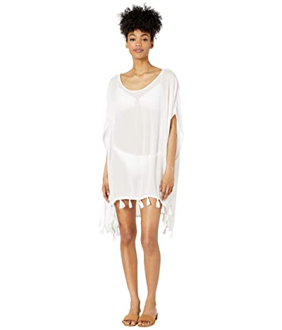 Roxy Make Your Soul Poncho Cover-Up (Bright White) Women