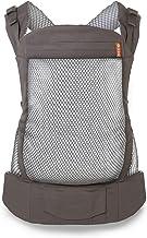 Beco Portabebés para Niños Pequeños - Mochila Portabebés para infantes de 20 a 60 libras diseñada para cargar niños pequeños con asiento extra amplio (Cool Grey Mesh)