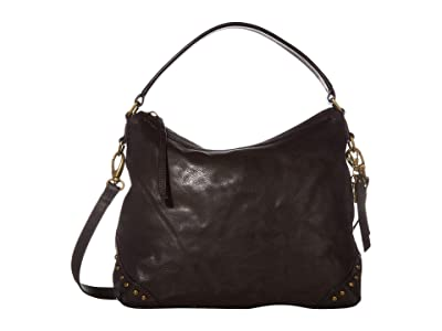 FRYE AND CO. Odessa Hobo (Dark Brown) Hobo Handbags