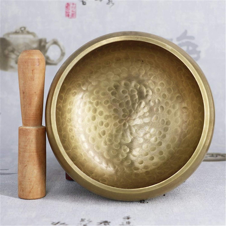 Juego de cuencos de canto de luna llena grabados personalizados, cuenco tibetano, tazón de meditación, cuenco de chakra, tazón de curación (estándar de 8 cm)