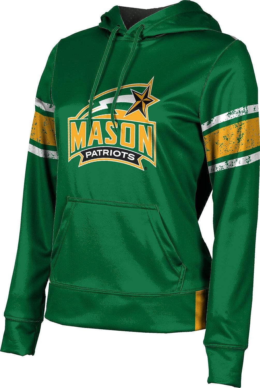 ProSphere George Mason University Girls' Pullover Hoodie, School Spirit Sweatshirt (End Zone)