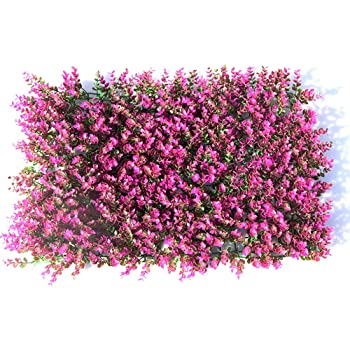 LVZAIXI Césped Artificial Jardín Vertical Colgar En La Pared Planta Decoración De Pared Fondo De La Planta De Césped Fence Balcón Patio De Fondo (Color : A, Size : 40x60cm): Amazon.es: Hogar