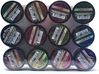 Mia Secret Nail Art Acrylic Powder 1/4 Oz Each Bottle Assortment of 12 Colors Fruit
