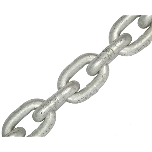 15m steel chain galvanised 2mm short link A1