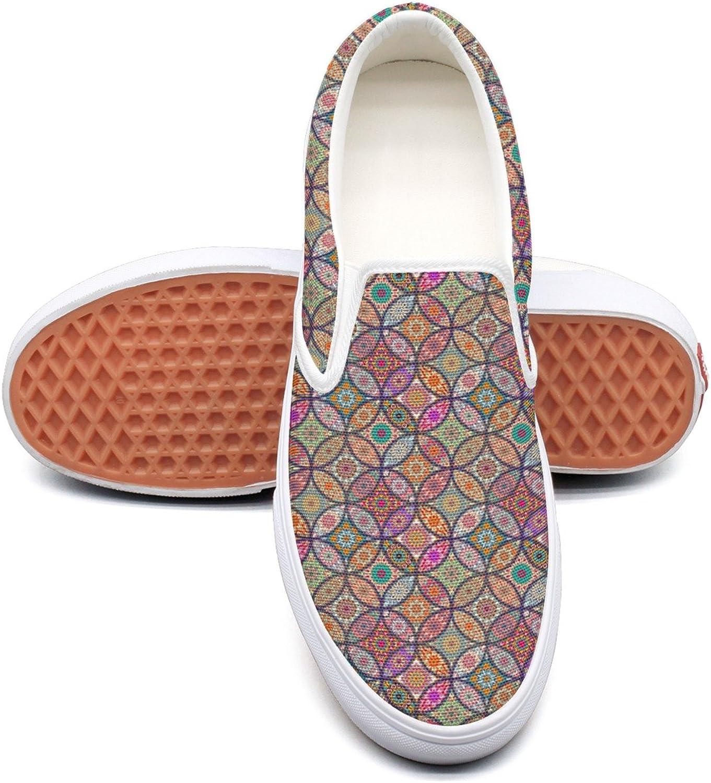Dutte Lisa Lisa Lisa herrar Cool Floral Mandala Casual skor Laces Low Slip On duk skor  handla på nätet