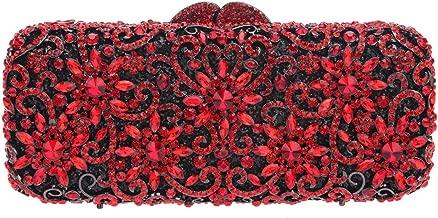 Fawziya Sun Flower Purse Women's Baguette Rhinestone Clutch Evening Bag