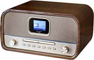 Soundmaster DAB970BR Musikcenter mit DAB+ UKW CD MP3 USB Bluetooth und Farbdisplay