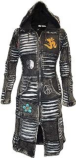 Shopoholic Fashion Women Black Om Gothic Coat