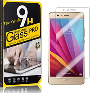 The Grafu Screen Protector for Huawei P9 Lite, Bubble Free, 9H Scratch Resistant Tempered Glass Screen Protector Film Compatible with Huawei P9 Lite, 4 Pack