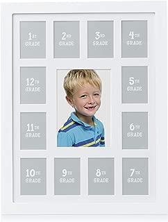 Pearhead K-12 School Days Picture Frame, Capture Memories and Celebrate Milestones from Kindergarten to 12th Grade Graduation