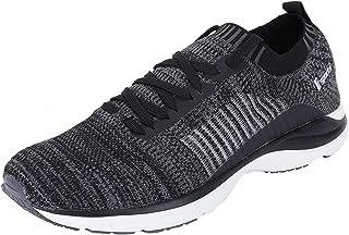 Fsports Latest Collection Black Colour Edmond Series Lycra Casual Shoes for Men