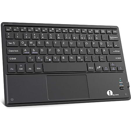 1 By One Bluethooth Tastatur Qwertz Deutsche Laptop Computer Zubehör