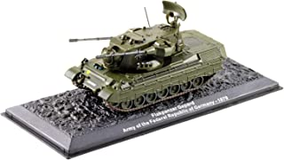 Deagostini 1:72 Diecast Model Tank - Flakpanzer Gepard Army Of The Federal Republic Of Germany 1979 Army Tank #30