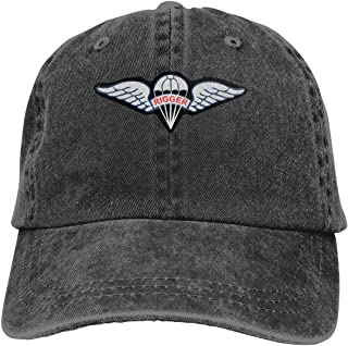 Army Rigger Wings Adjustable Sport Jeans Baseball Golf Cap Hat Unisex Style