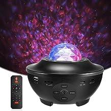 LED Sterlicht Projector, Delicacy Oceaangolf Nachtlichten,Roterende Nevel Projector Lamp,Kleur Veranderende Muziekspeler m...