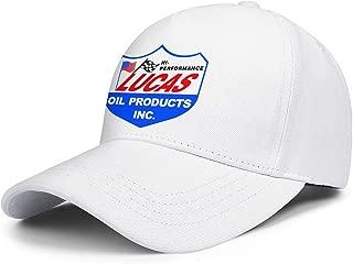 Heart Wolf Unisex Strapback Hat Snapback Lucas-Oil-Logo- Caps for Mens Womens