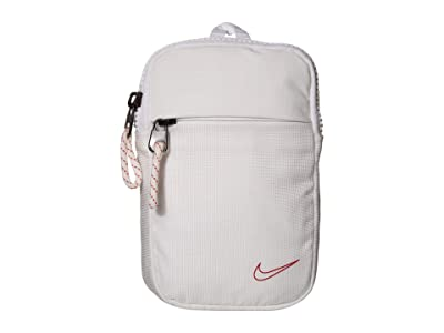 Nike Basketball Essentials Hip Pack Small (White/White/University Red) Bags
