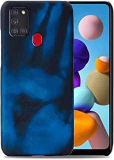 Hicaseer Case for Galaxy A21S,Thermal Sensor Case&Ultra Thin Anti-Scratch Stylish Color Changing Protective Cover for Sams...