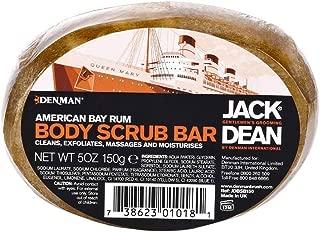 Denman Jack Dean Body Scrub Bar American Bay Rum 5 oz